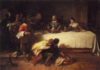 the banquet by henry courtney selous
