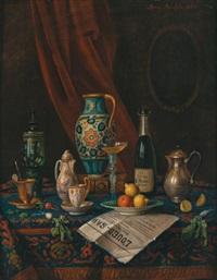 antiquitätenstillleben by moritz mansfeld