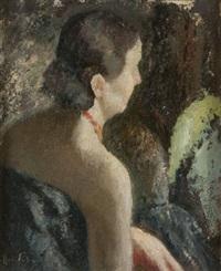 donna di spalle by nicola fabricatore