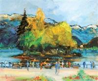 annecy le lac by louis amalvy