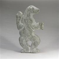 polar bear by kaka ashoona
