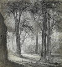 paisaje boscoso by cornelis troost