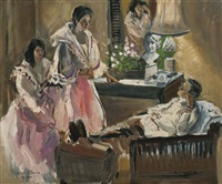 in the drawing room (tres marias) by federico aguilar alcuaz