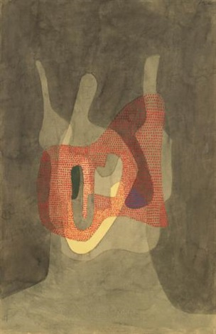 schützerin protectress by paul klee