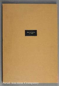 from trophies à l'antique (portfolio w/24 works) by jean le pautre
