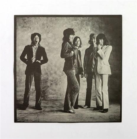 Rolling Stones Sticky Fingers album and photographic album