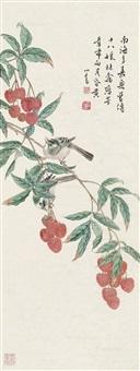 花鸟图 立轴 by pu ru