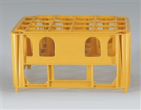 milk crate by michael landy
