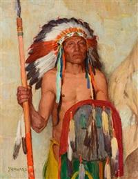 the war chief by joseph henry sharp