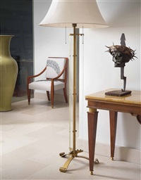 floor lamp by jules leleu