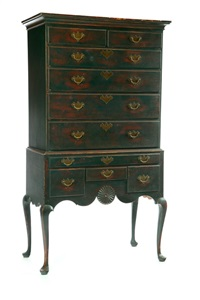 high chest of drawers by david t. smith