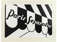 paris separates by patrick caulfield