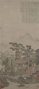 landscape by wen zhengming