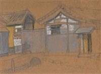 tile-roofed house at changsin-dong by park soo-keun