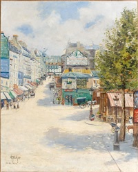 la rue lepic by louis abel-truchet