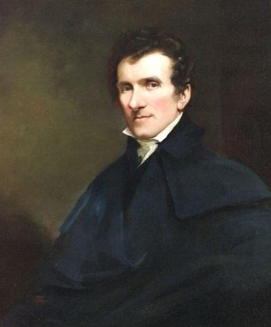 portrait of a gentleman antonio canova  by john jackson
