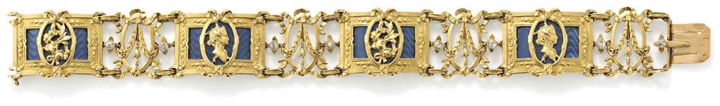 bracelet by henri vever