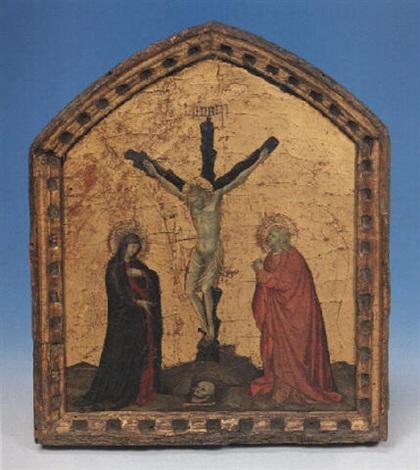 il crocifisso tra i dolenti by pietro lorenzetti