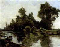 on a quiet backwater by william brymner
