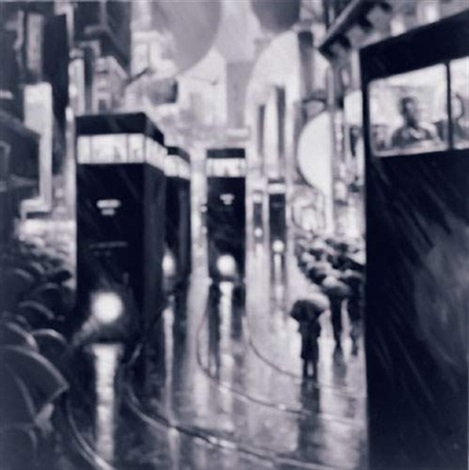 trams by andre von morisse