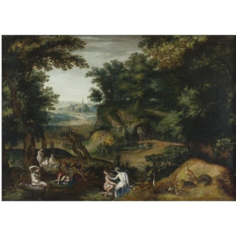 diana and callisto by joachim anthonisz wtewael