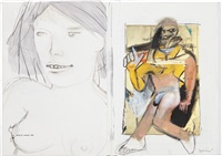 untitled (de kooning book) by richard prince