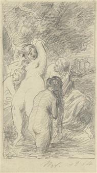 femmes au bain by henri fantin-latour