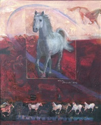 the name of the horse is minstrel by hasan rastgeldi