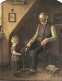 farfars piptändare by edvard harald bentzen