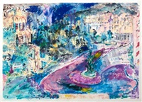 horseshoe at loews by leroy neiman