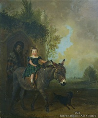 the riding lesson by edmund bristow