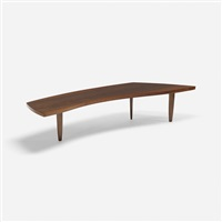 coffee table, model 200-84w by george nakashima