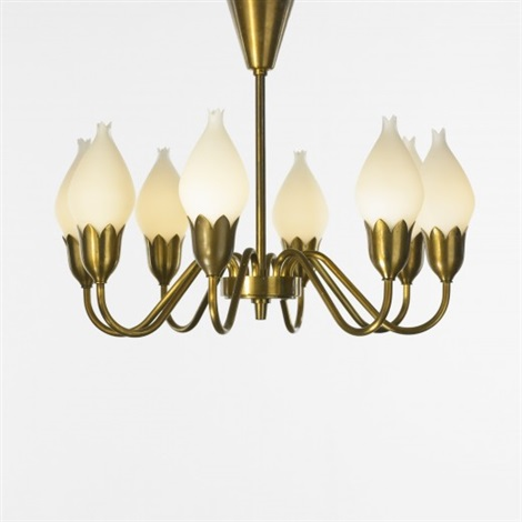 Tulip chandelier by fog mrup on artnet tulip chandelier by fog mrup aloadofball Image collections