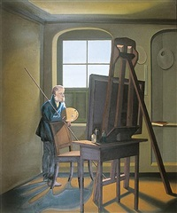 casper david friedrich in his studio by shibu natesan