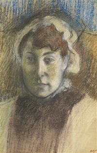 portrait de mme ernest may by edgar degas