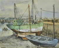 concarneau by margaret hannah olley