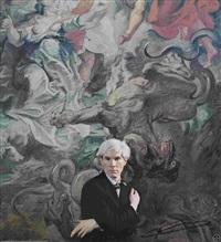 portrait andy warhol by hans namuth