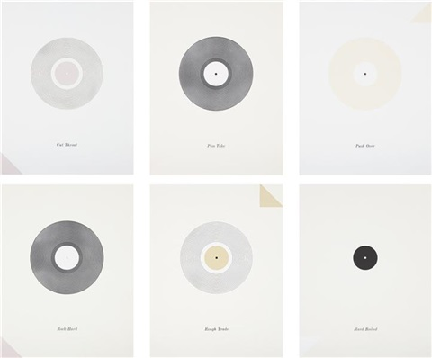 records set set of 6 by matthew brannon