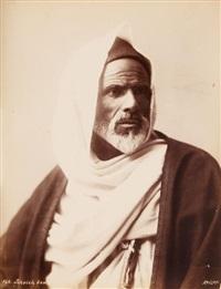 égypte. famille d'un cheikh bédouin. bédouins armés (6 works) by andreas d. reiser