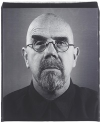 self-portrait (4 works) by chuck close