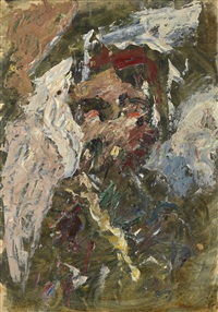 male portrait by anatoly zverev