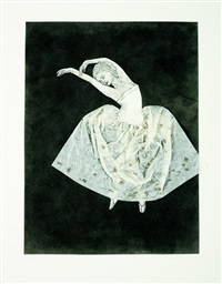 ballerina (stretching left) by kiki smith
