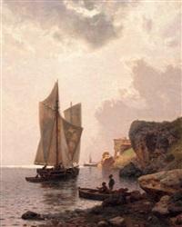 marina dell'elba, bragozzi by pietro senno