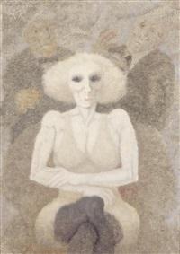 ritratto femminile by remo squillantini
