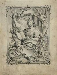 evangelist matthäus by vitus felix rigl