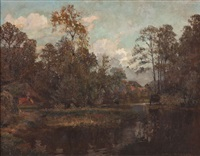 bauernkate am see by heinrich muller-wachenfeld