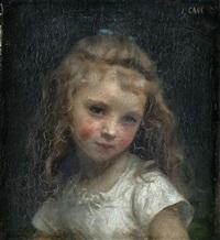 portrait de jeune fille by jules cyrille cavé