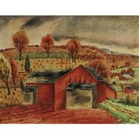 a new england farm by george biddle