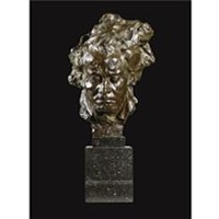 a head of medusa by isidore de rudder