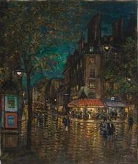 rue de rivoli, paris by constantin alexeevich kerovin and alexei konstantinovich korovin